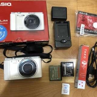 CASIO EX-ZR1500 美顏自拍相機