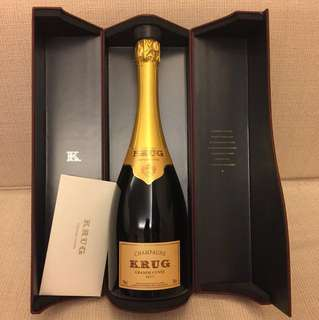 NV Krug Grande Cuvée Champagne (With Box)