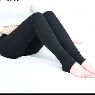 BN thermal leggings, charcoal gray
