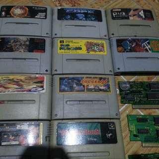 Super Famicom cartridges