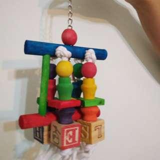 [LAST Piece]  Parrot Block Toy / Parrot Chew Toy