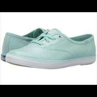 Keds CH TS metallic canvas sneakers (blue)