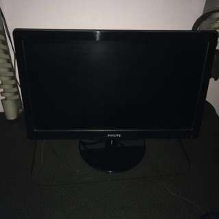 "Philips 19.5"" LED Monitor 1920x1080"