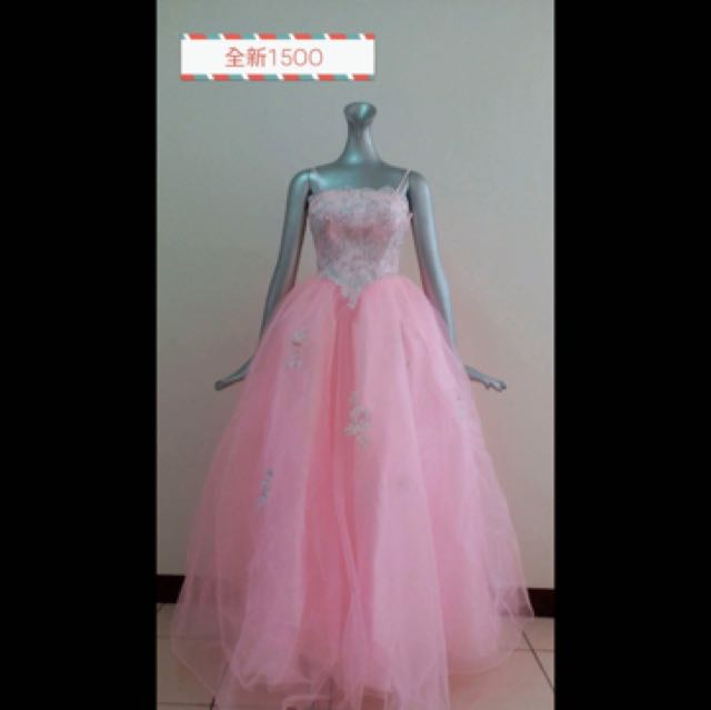 粉紅色禮服出清