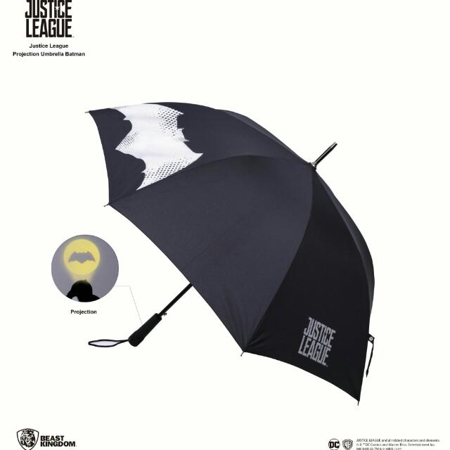 限量正版蝙蝠俠授權傘,有投影蝙蝠俠功能喔!