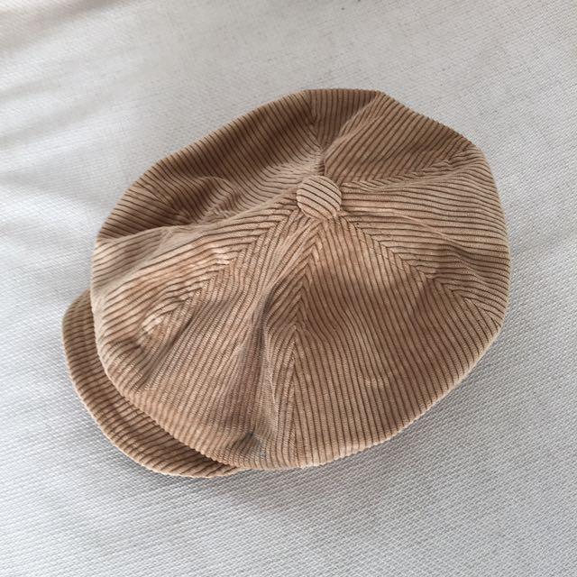 燈芯絨帽帽