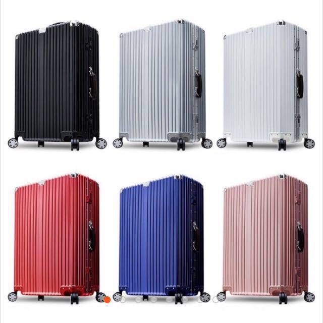 #幫你省運費復古風行李箱