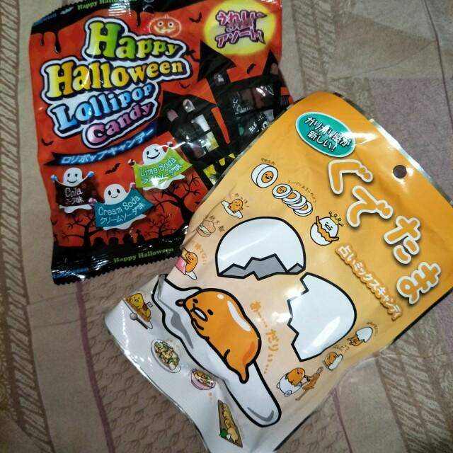 日本帶回糖果
