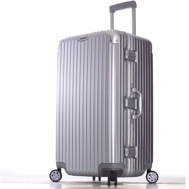 #幫你省運費 💋霧面典藏加寬鋁合金行李箱