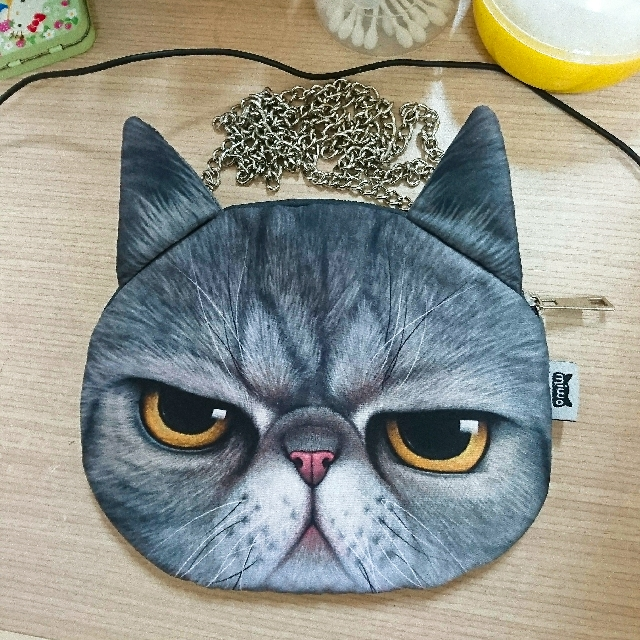 全新 貓咪斜背包
