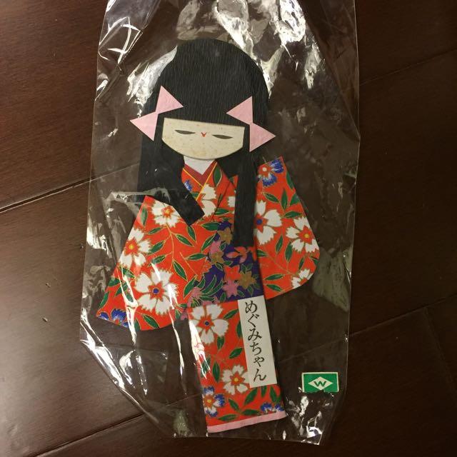 🇯🇵帶回 日本和服娃娃摺紙人偶 吊飾 擺設- 共兩款 #交換禮物 #可換物