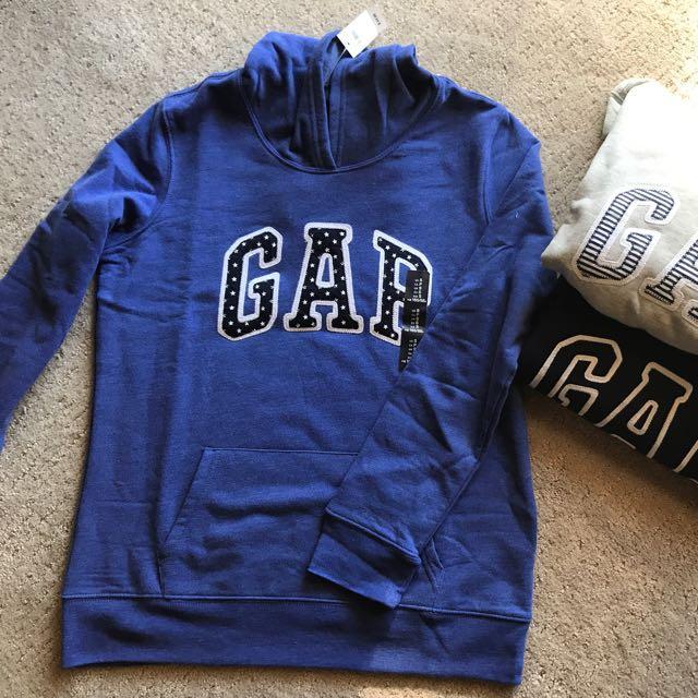 美國代購🇺🇸 女款Gap基本款帽T 三色