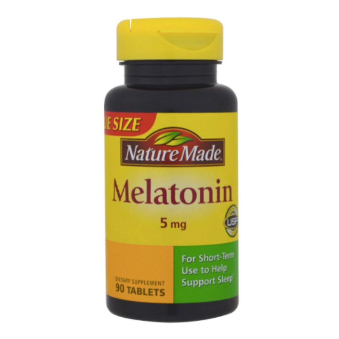 美國代購🇺🇸萊萃美 Nature Made Melatonin 5MG