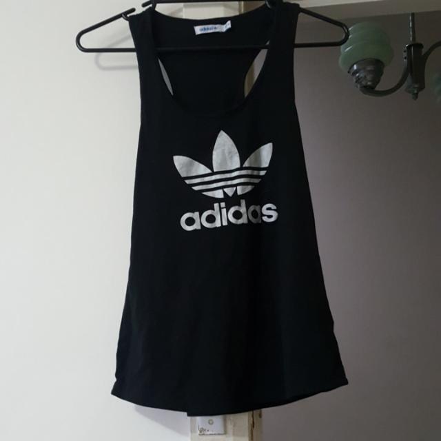 Adidas Black/Silver top