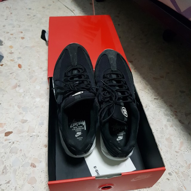 super popular bd268 7ffe0 Air Max 95 stussy, Men s Fashion, Footwear, Sneakers on Carousell