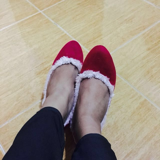 Antie Rosie Authentic Red Shoes