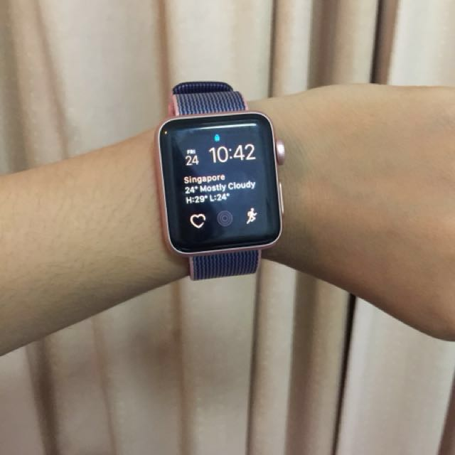 apple watch rose gold series 2 38mm women s fashion