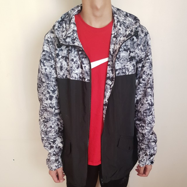 ASOS Winter Camo Spray Jacket