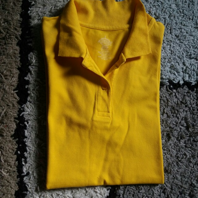 Authentic Dickies Polo Shirt (cute yellow)