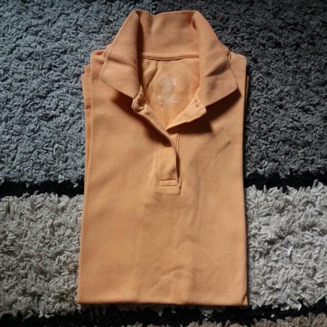 Authentic Dickies Polo Shirt (light orange)
