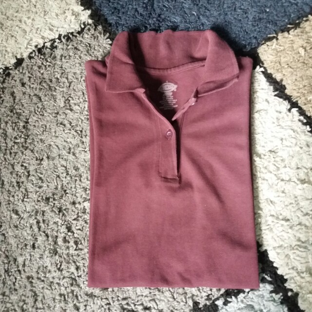 Authentic Dickies Polo Shirt (maroon)