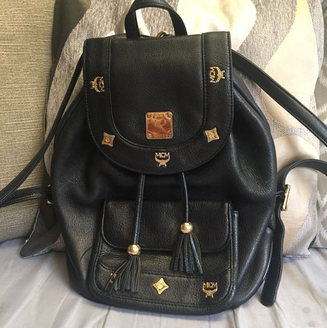 97a9217188d7 Authentic Preloved MCM Backpack, Women's Fashion, Bags & Wallets on ...