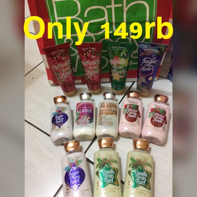 Bath and Body Works Body Lotion Body Cream