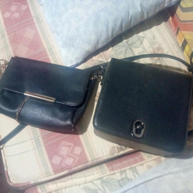 Bershka sling bag/ Zalora cross body bag