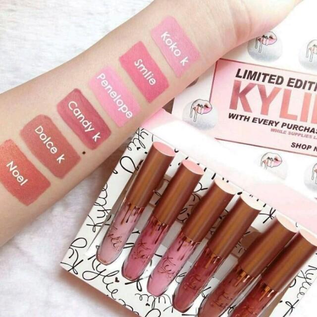 🚩BEST BUY! Kylie Limited Edition Matte Liquid Lipstick