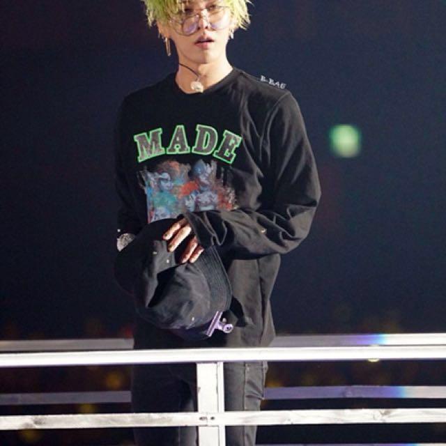 BIGBANG/GD 演唱會MADE長袖上衣