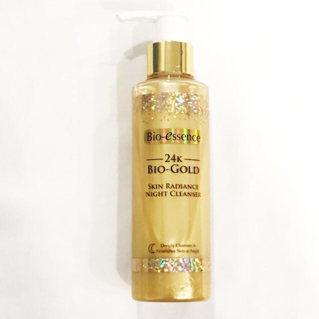 Bio-Essence 24K Bio Gold Skin Radiance Night Cleanser