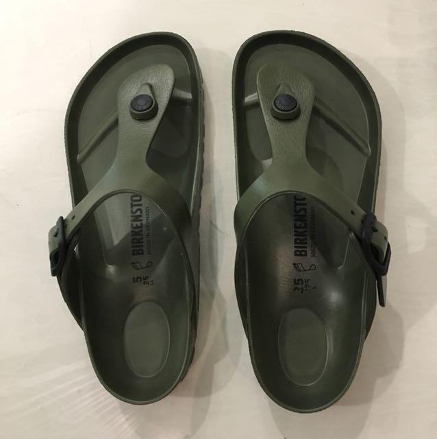 89e31a97bde Birkenstock Giveh EVA Sandals (Army Green)