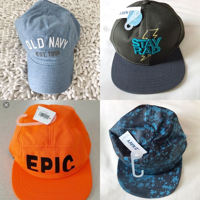 768bbb3b1e8 BN Old Navy Baby Toddler Boys Logo Caps! 2 Years-std size avail ...