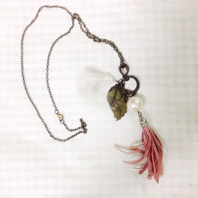 Bohemian Necklace with Tassel