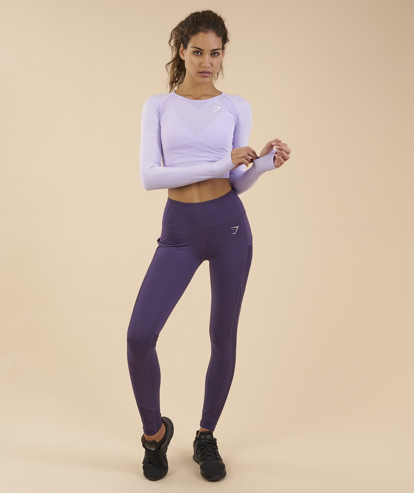 Brand new Gymshark Sleek Sculpture Leggings - Rich Purple