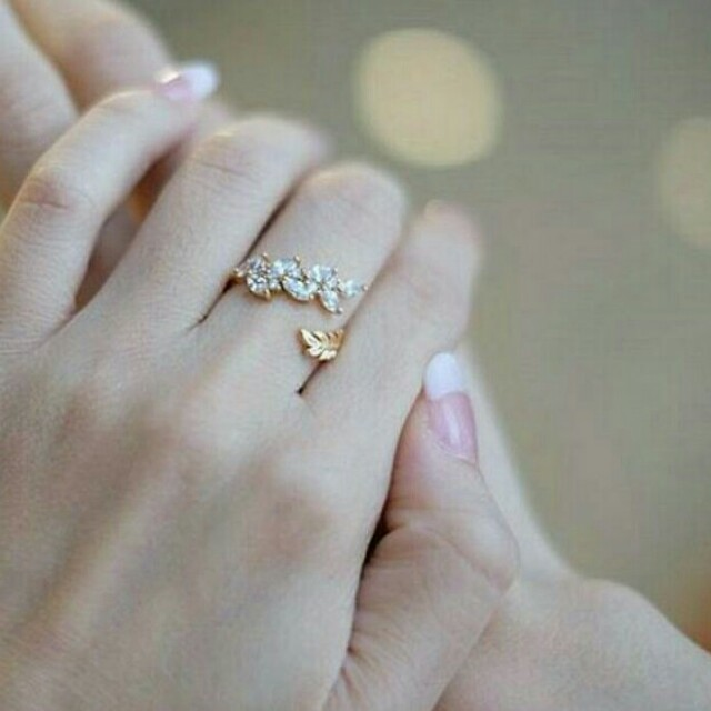 Brielle Ring in Gold