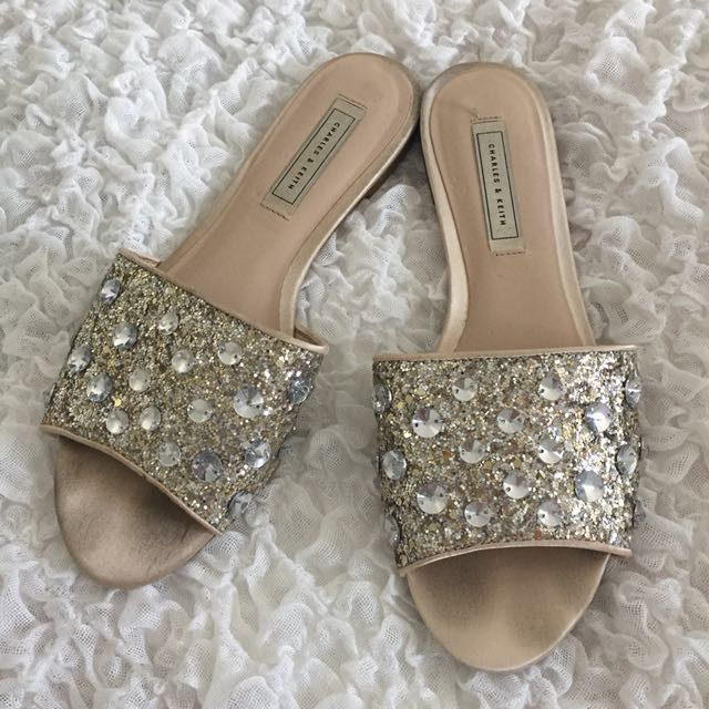 Charles & Keith Sparkling Sandals