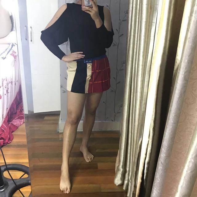 Cindy set (Sabrina Top+Skirt)