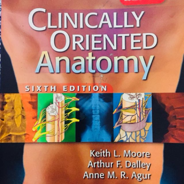 Clinically Oriented Anatomy 6th edition (Moore), Textbooks on Carousell