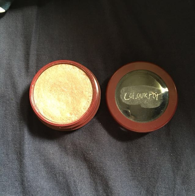 Colourpop limited edition super shock highlighter (shade: High five) (rose gold)