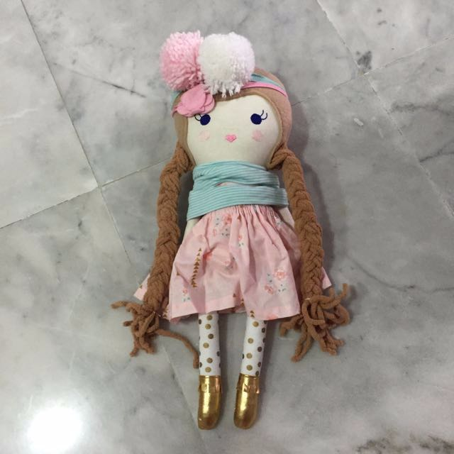 Cotton Candy Dollies Doll Pink Posy Little Miss #1212YES