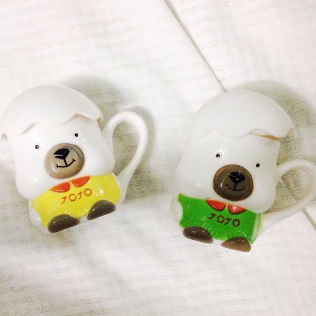 Couple Cups Set