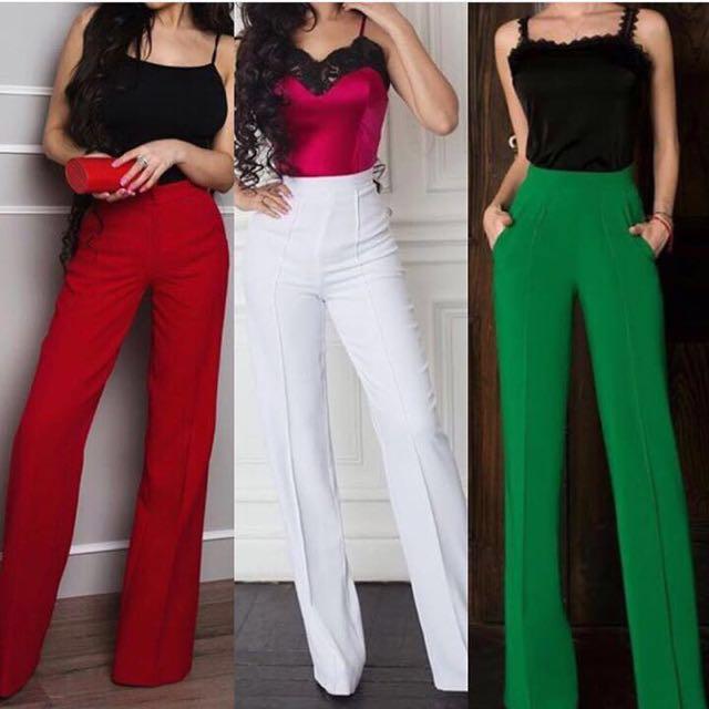 Culotte long pants