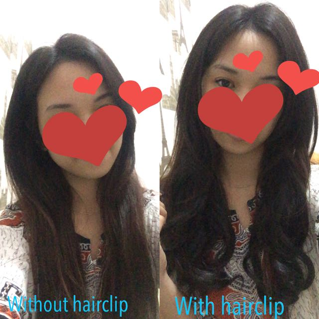 Curly Hairclip (BLACK) // AMBIL 2 hairclip sekaligus RP 150.000 (FIX PRICE)