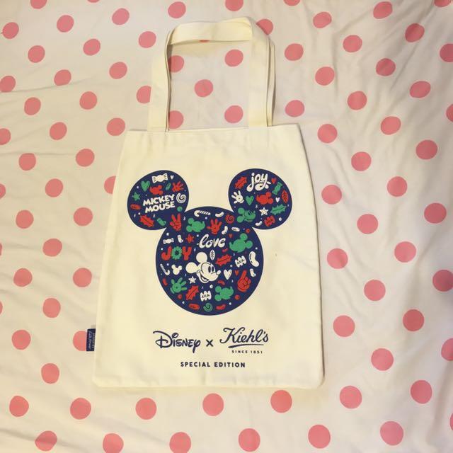 Disney x Kiehl's 聯名款 米奇托特包
