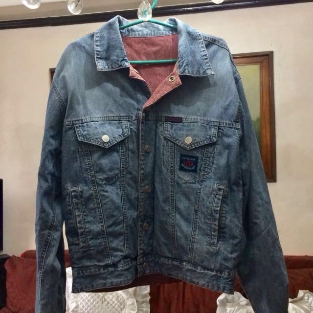 Dual Design Denim Jacket