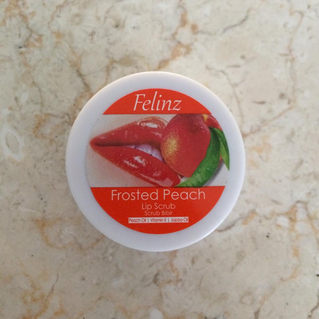 FELINZ Lip Scrub (Frosted Peach)