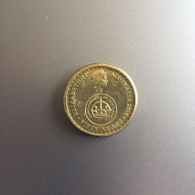 Fifty years decimal currency $2 Coin