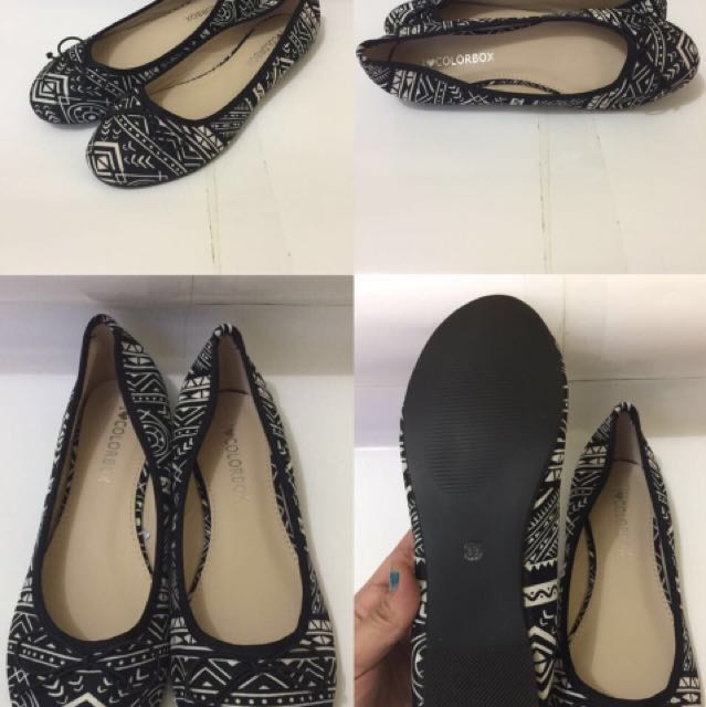 Flat shoes colorbox