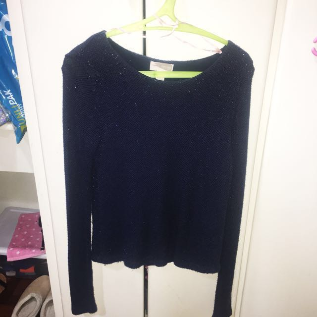 Forever 21 Contemporary Periwinkle Sweater